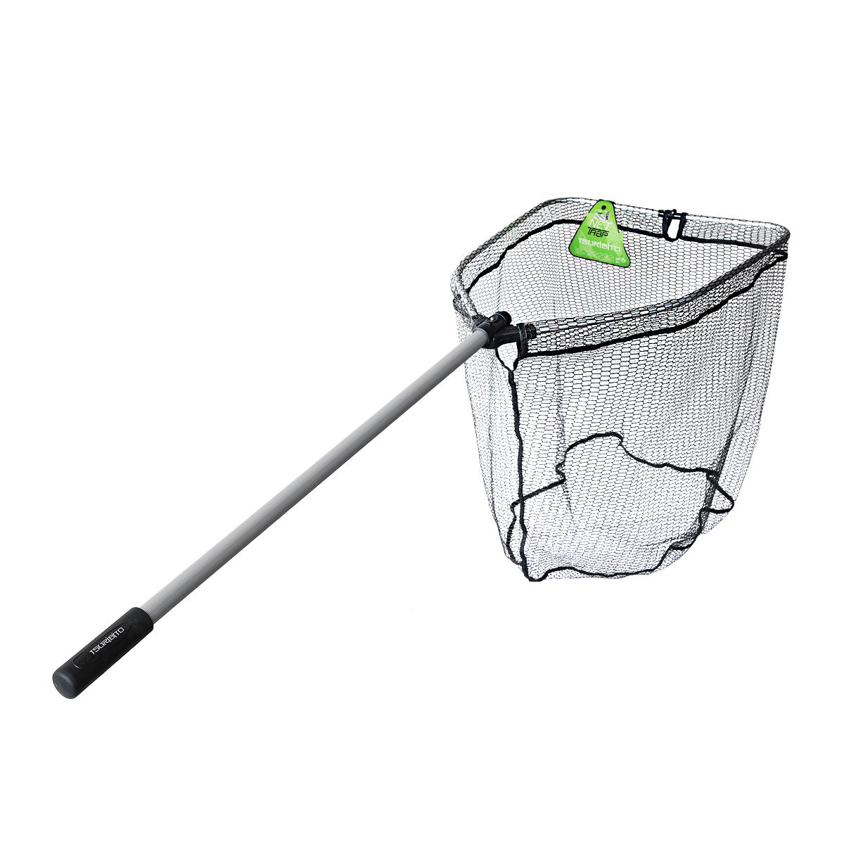 Подсачек для рыбалки телескопический своими руками